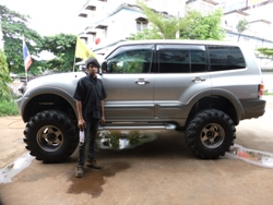 Mitsubishi Pajero Monocoque 4wd Suspensions Lift Kit